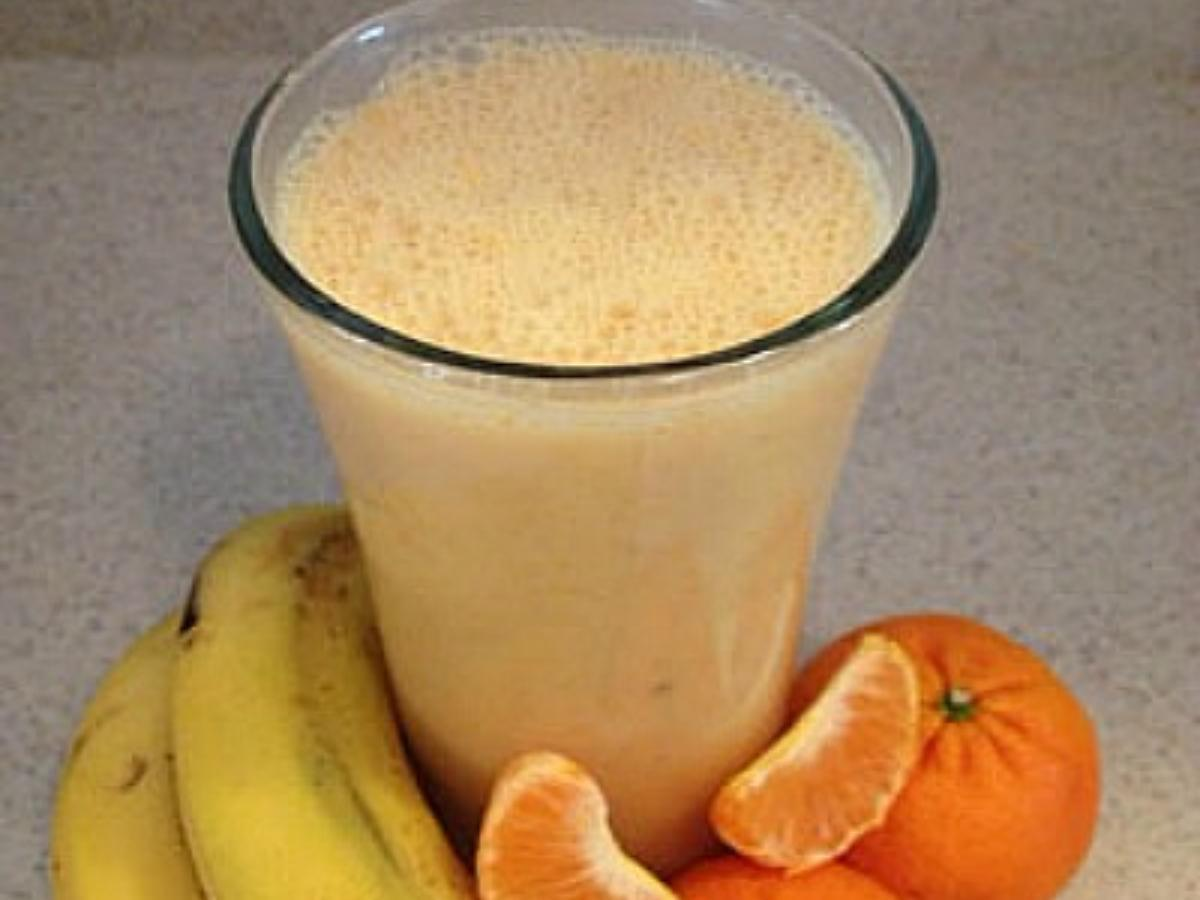 Creamy Clementine Smoothie Healthy Recipe