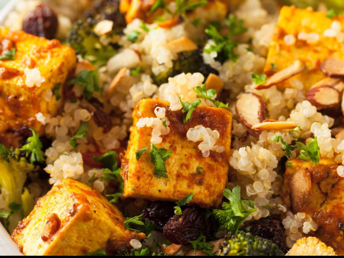 Crispy Tofu Bowl Healthy Recipe