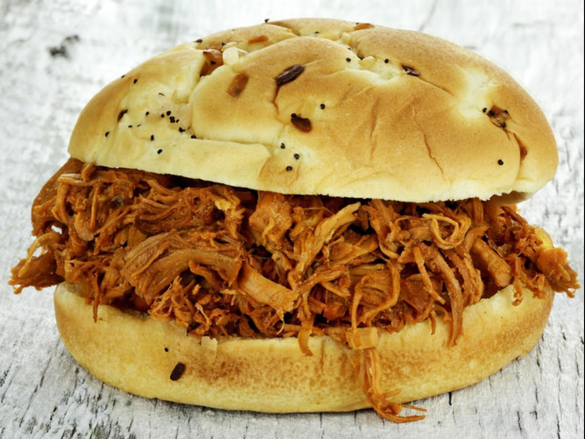 Crockpot chicken sandwich Healthy Recipe