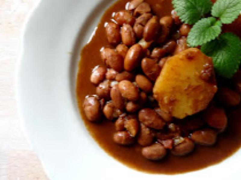 Curry Beans Healthy Recipe
