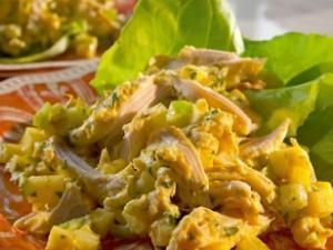 Curry Chicken Salad Healthy Recipe