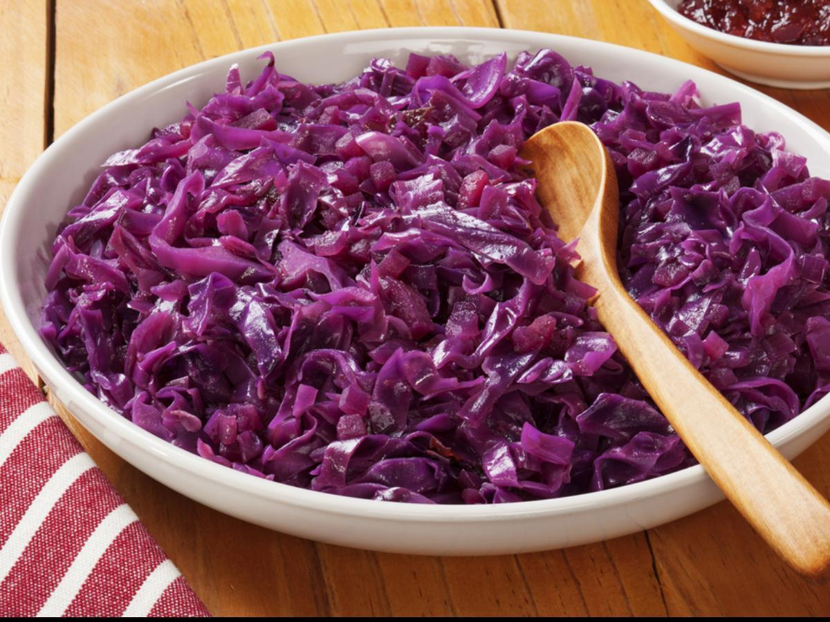 Danish Red Cabbage Healthy Recipe