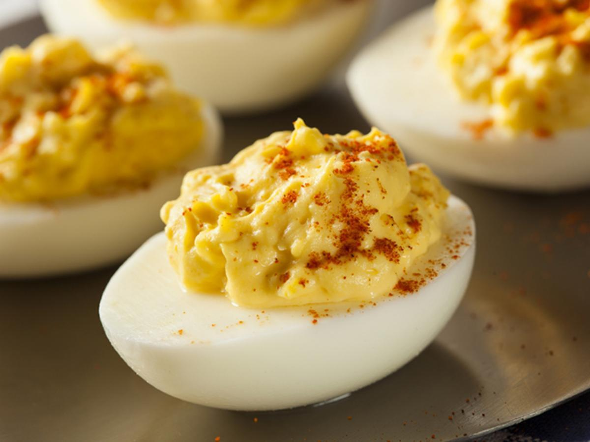 Deviled Eggs Healthy Recipe