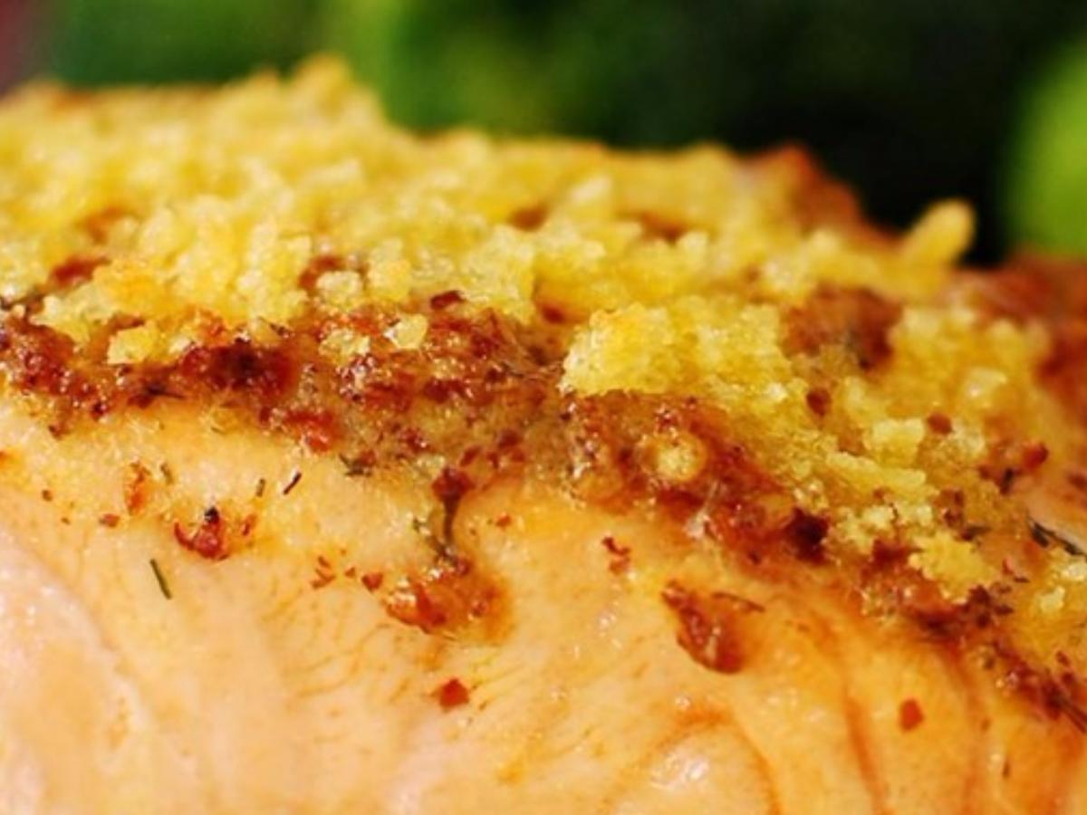 Dijon Salmon Fillets Healthy Recipe