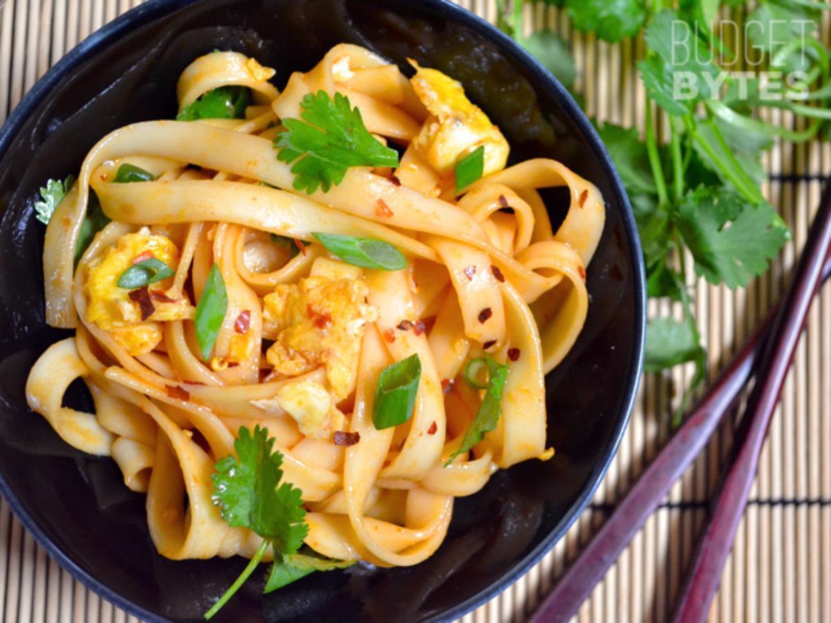 Dragon Noodles Healthy Recipe