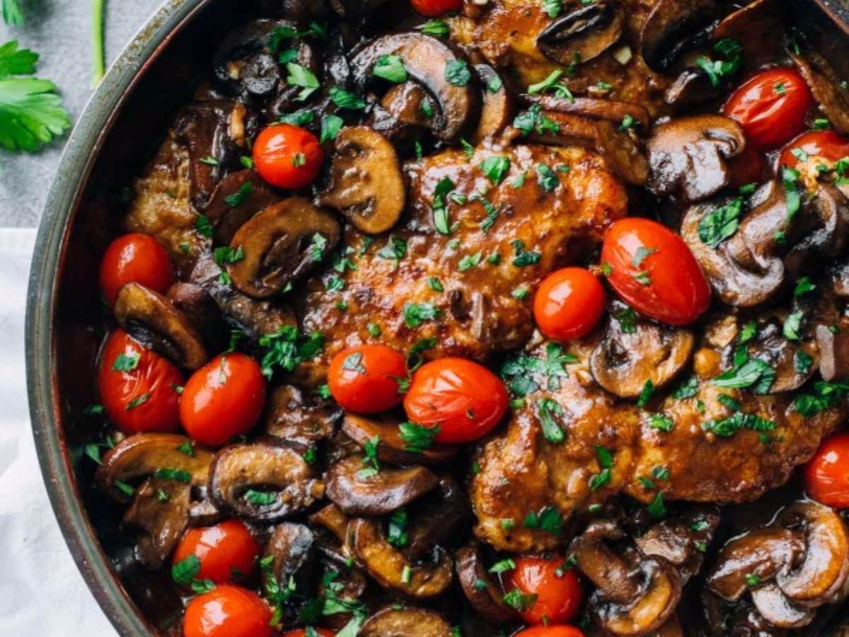 Drunken Chicken Marsala Healthy Recipe