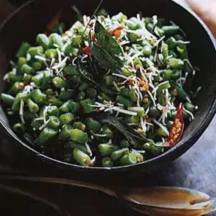 Dry-Curried Green Beans Healthy Recipe