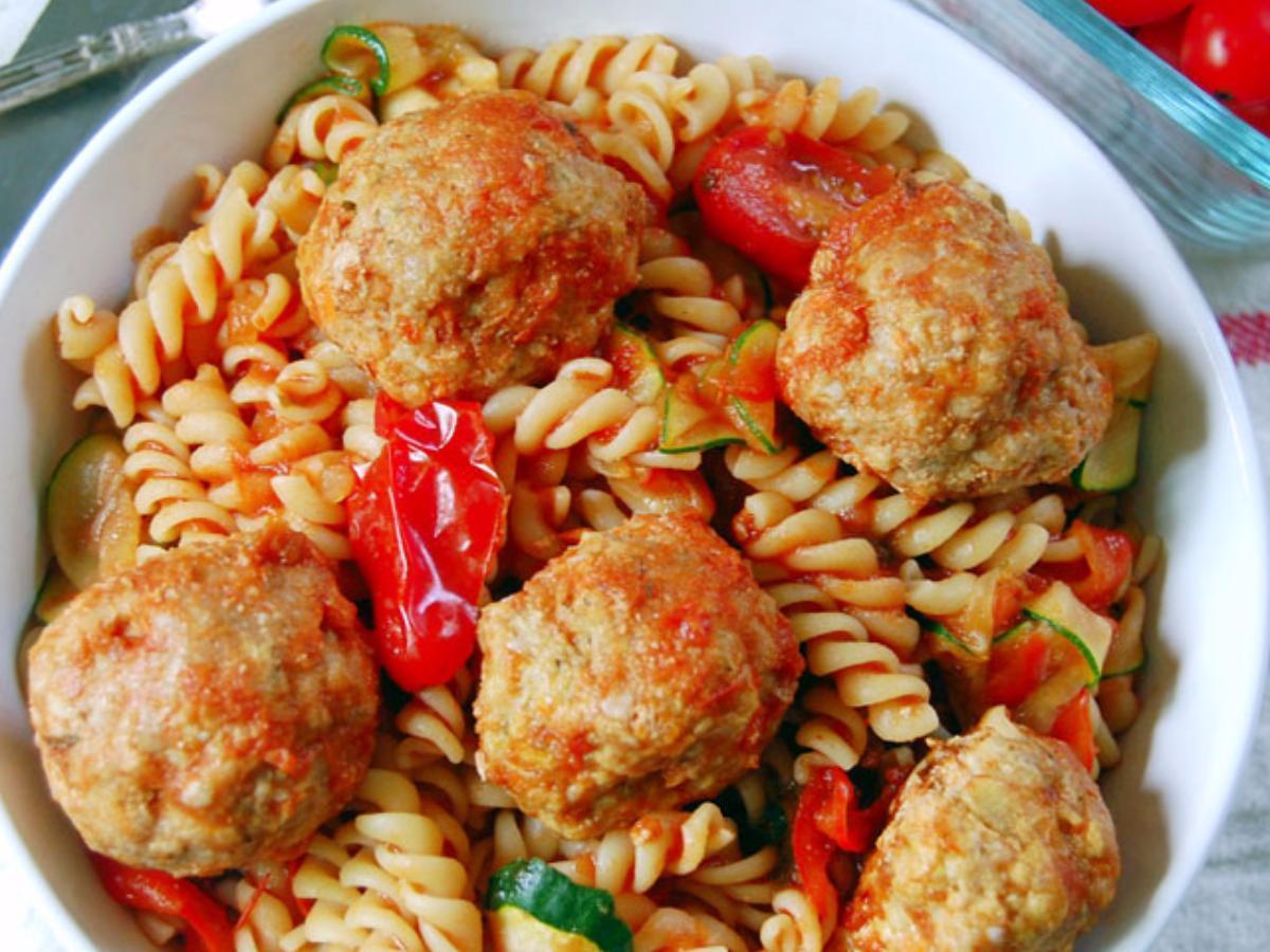 Easy Baked Turkey Meatballs Healthy Recipe