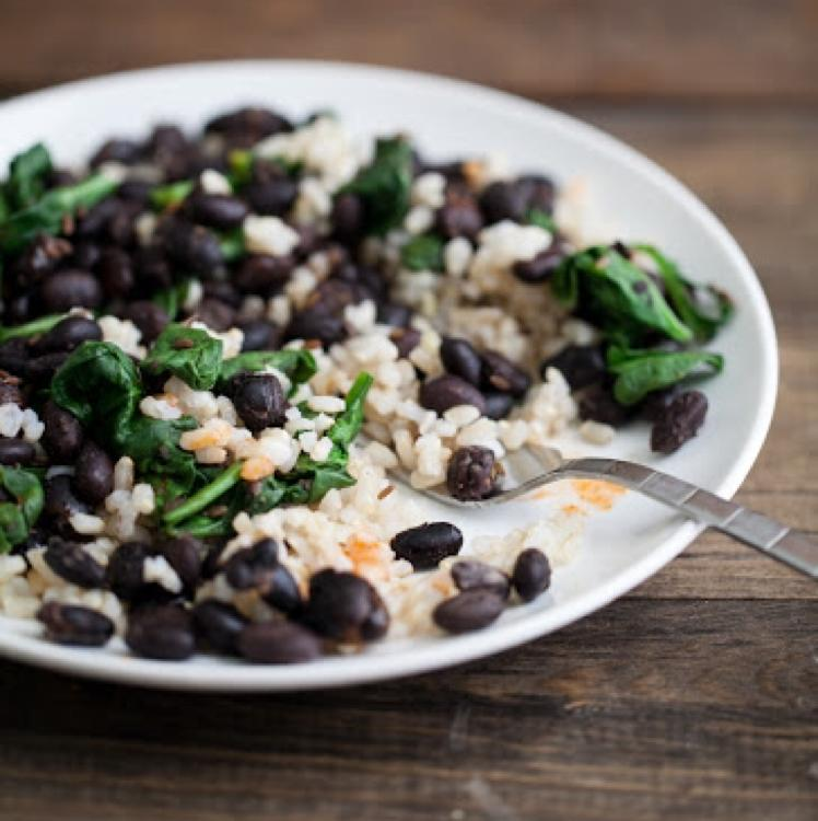Easy Black Beans and Rice Healthy Recipe