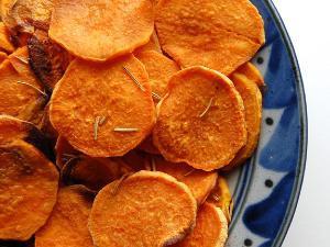 Easy Homemade Sweet Potato Chips Healthy Recipe