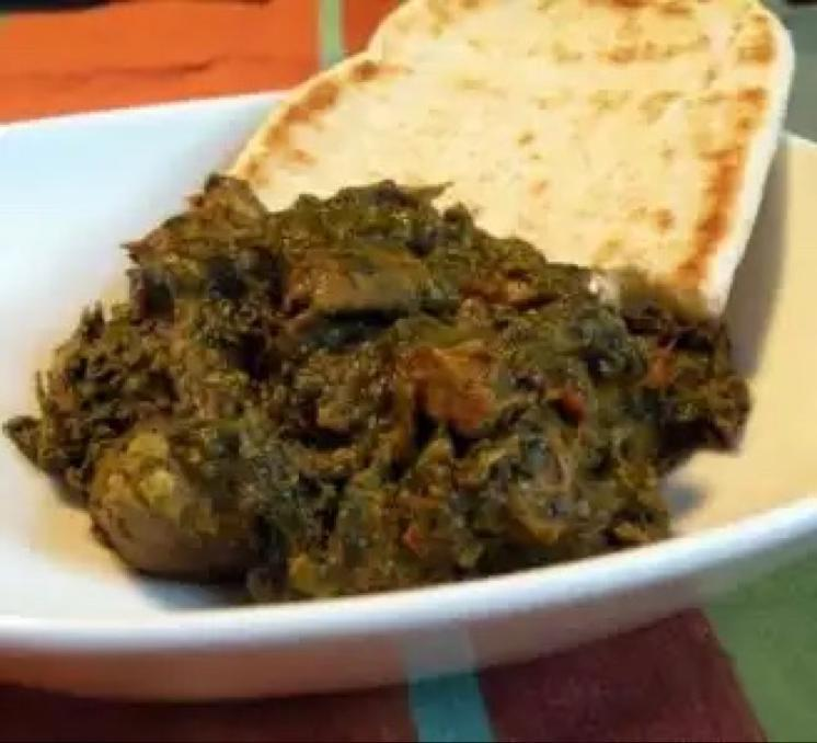 Easy Lamb Saag Healthy Recipe
