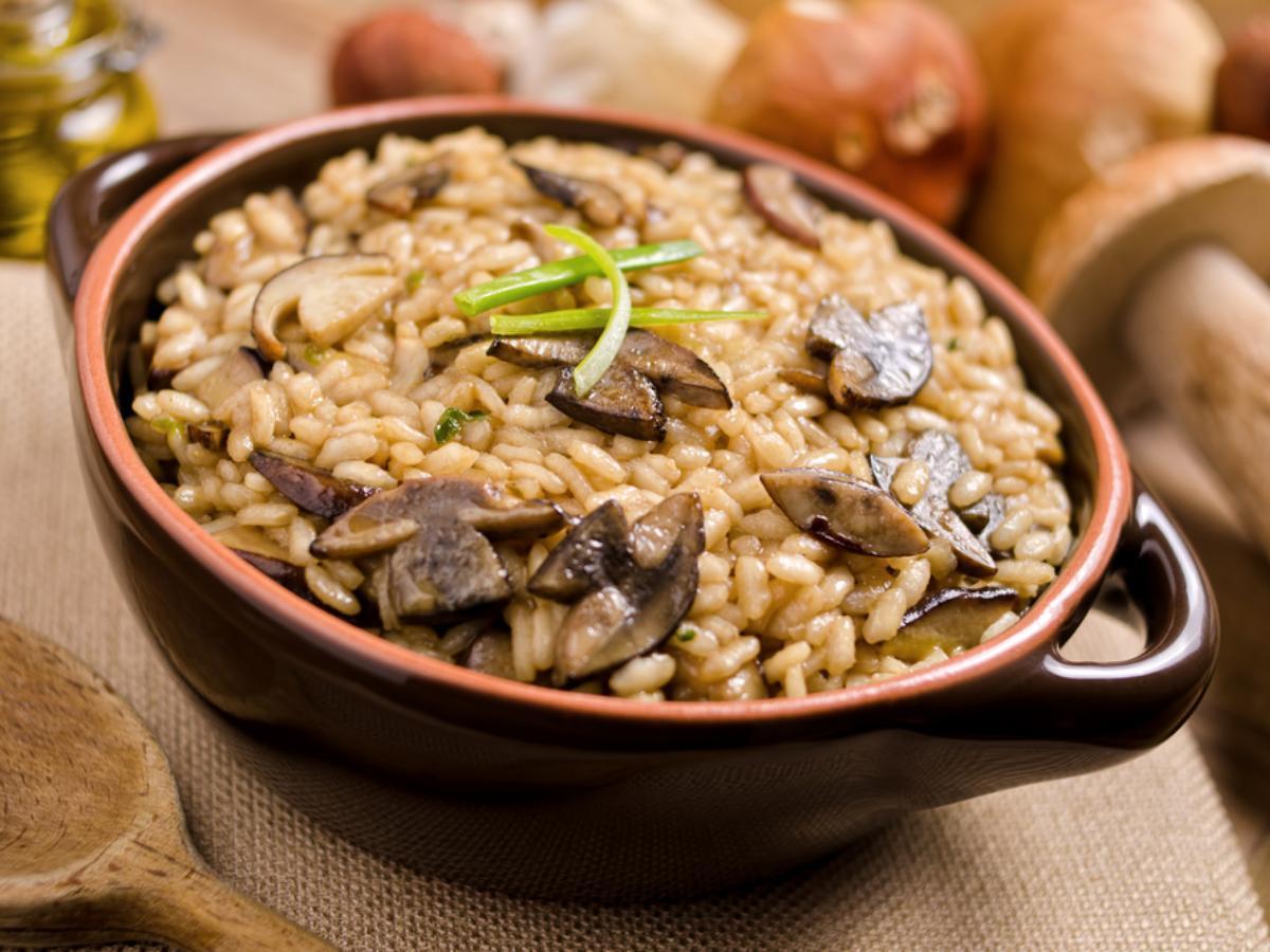 Easy Mushroom Rice Healthy Recipe