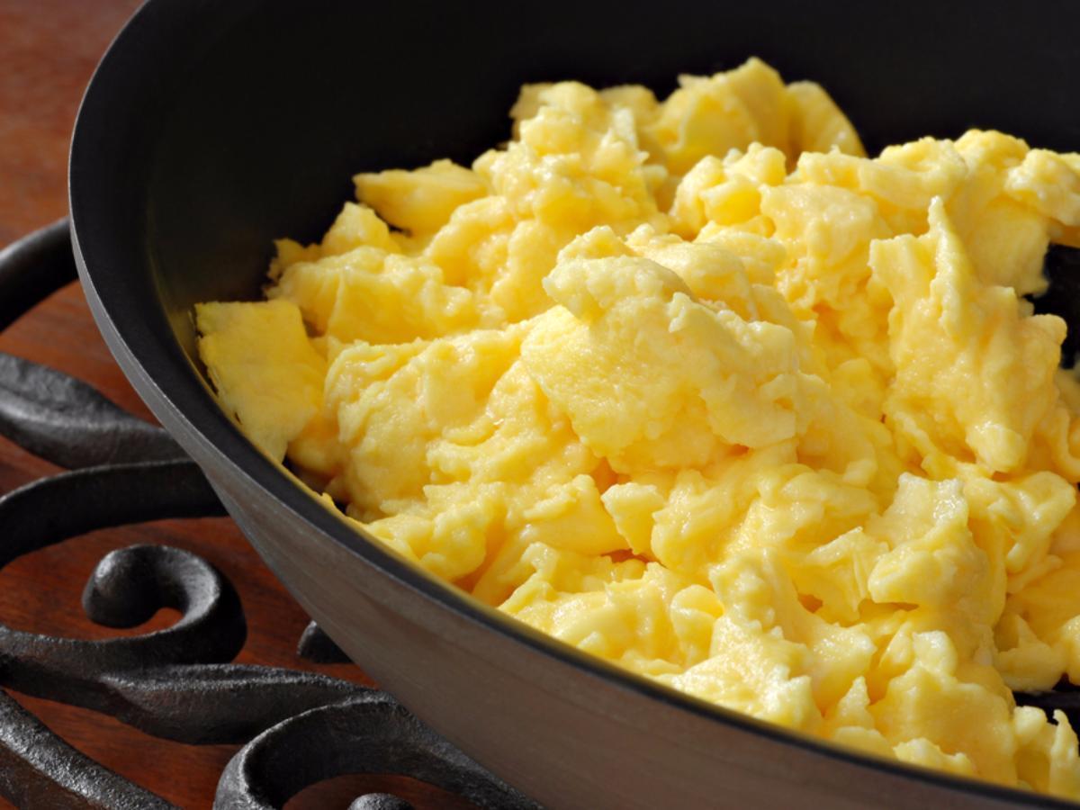 Easy Paleo Scrambled Eggs Healthy Recipe