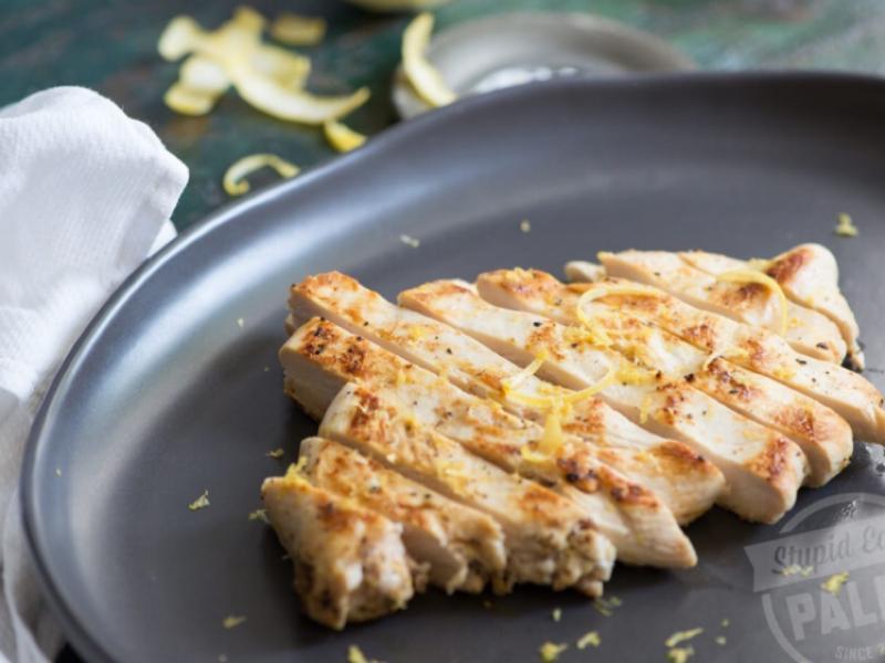 Easy Pan-Fried Lemon Chicken Healthy Recipe
