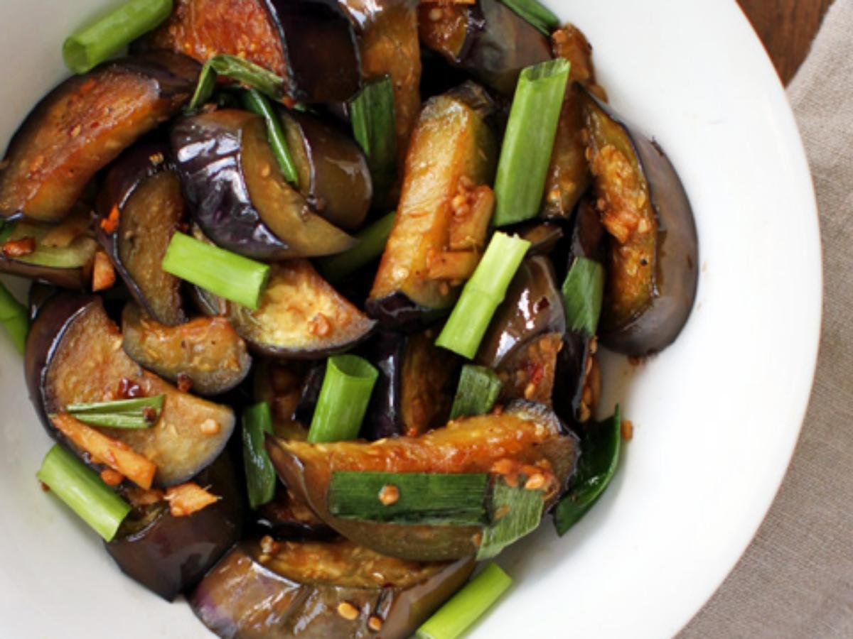 Easy Sautéed Eggplant  Healthy Recipe