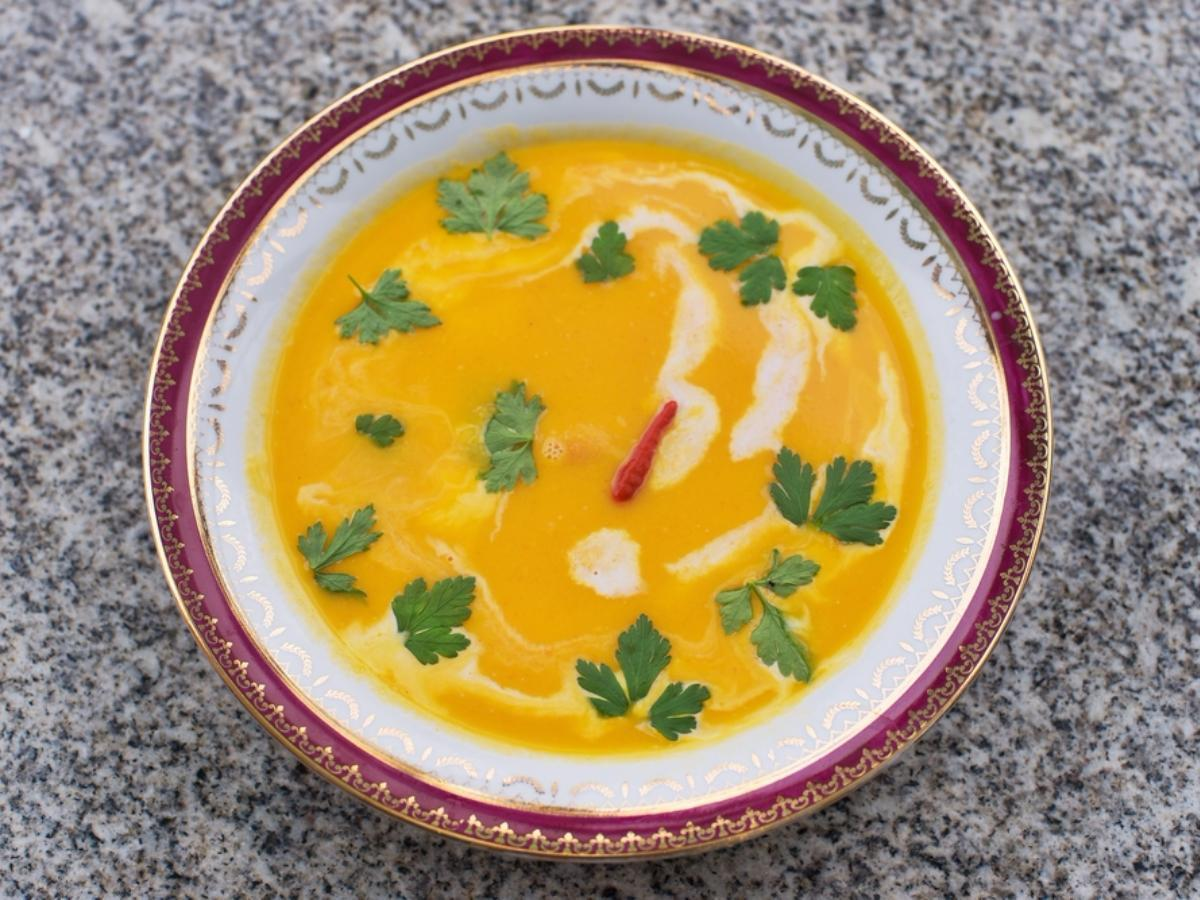 Easy Thai Carrot Soup  Healthy Recipe
