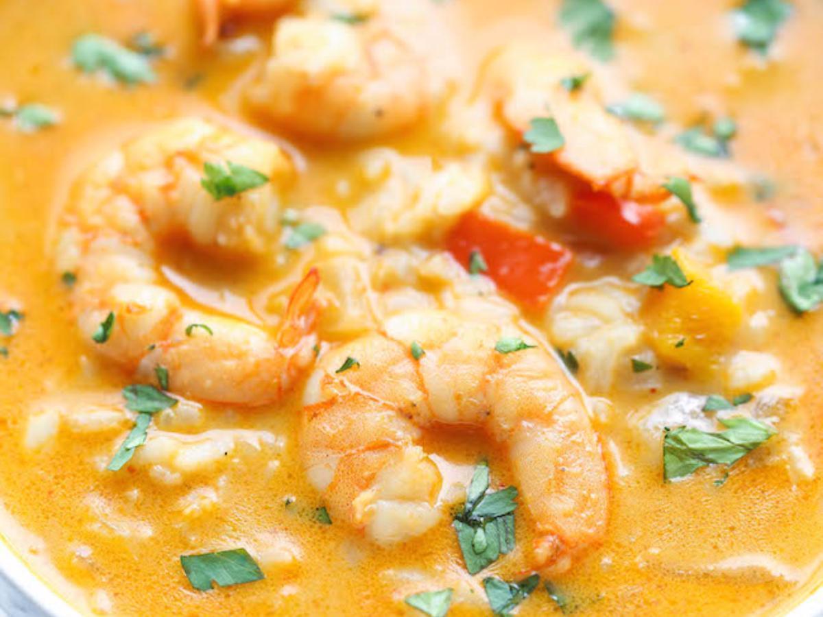 Easy Thai Shrimp Soup Healthy Recipe