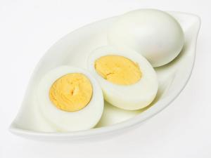 Easy To Peel Hard-Boiled Eggs Healthy Recipe