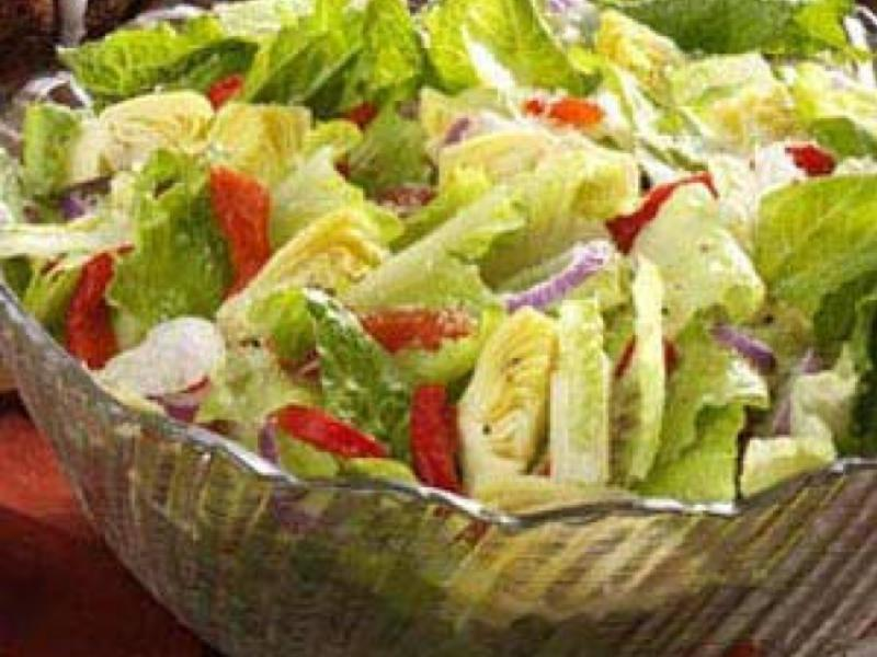 Easy Tossed Salad Healthy Recipe