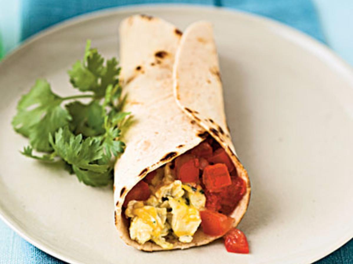 Egg Burrito Healthy Recipe