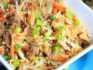 Egg Roll in a Bowl Healthy Recipe