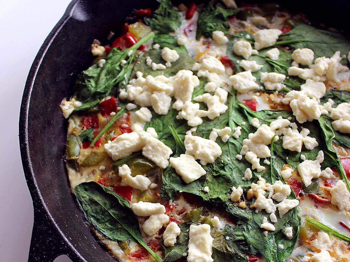 Egg White Frittata Healthy Recipe