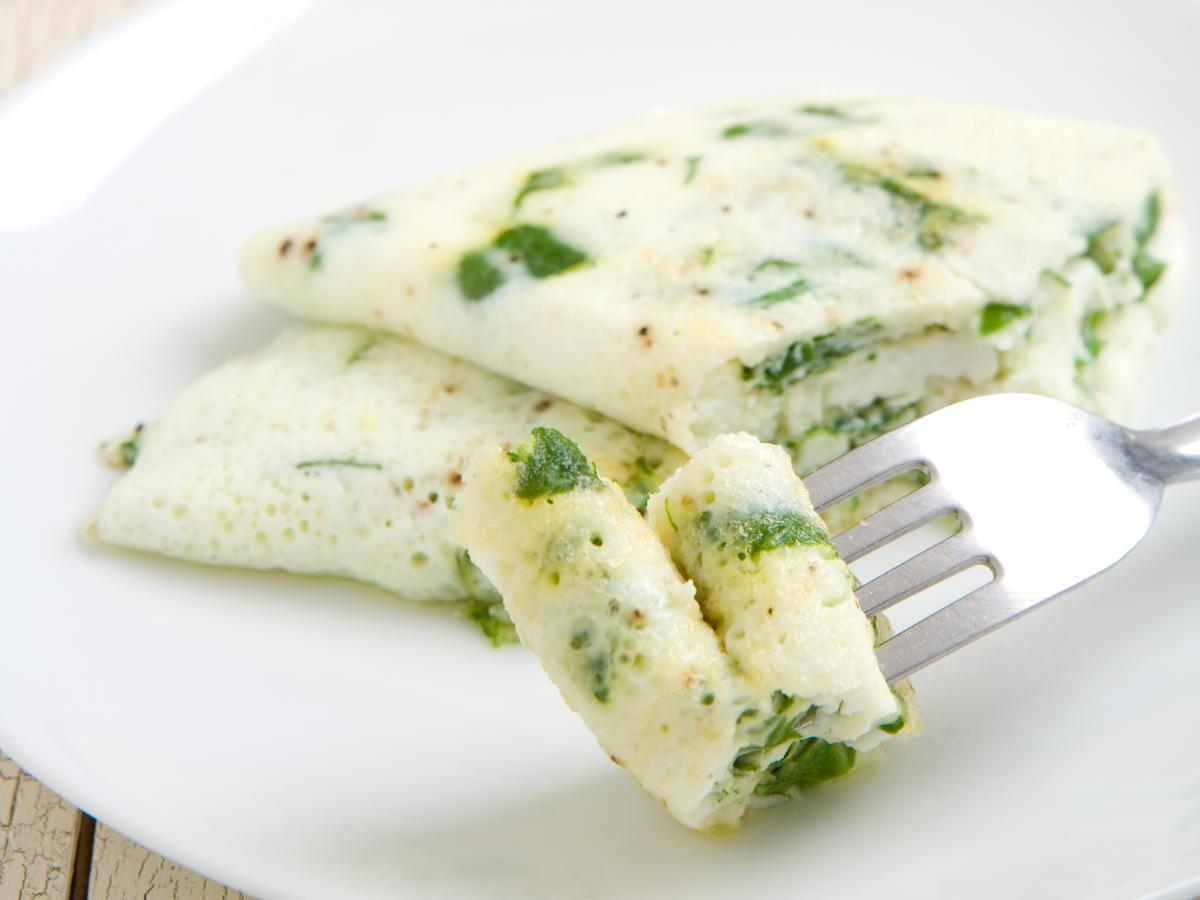 Egg white omelet Healthy Recipe