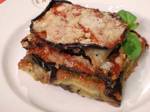 Eggplant and Goat Cheese Lasagna Healthy Recipe