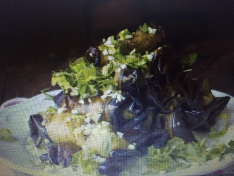 Eggplant Rolls Healthy Recipe