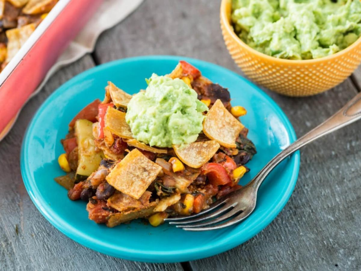 Enchilada Casserole  Healthy Recipe