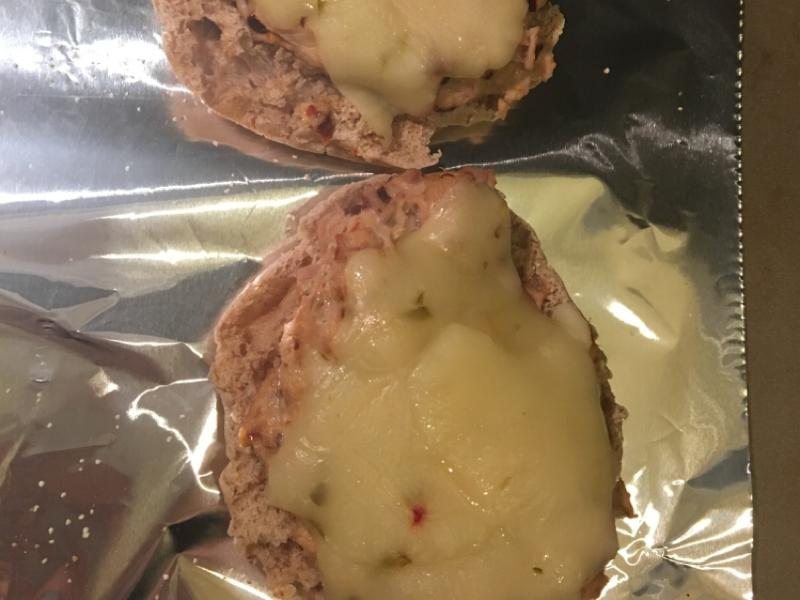 English Muffin Spicy Tuna Melt Healthy Recipe