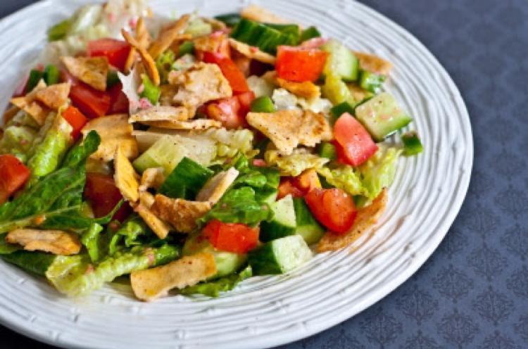 Fattoush Salad Healthy Recipe