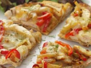 Fennel & Chicken Flatbread Healthy Recipe