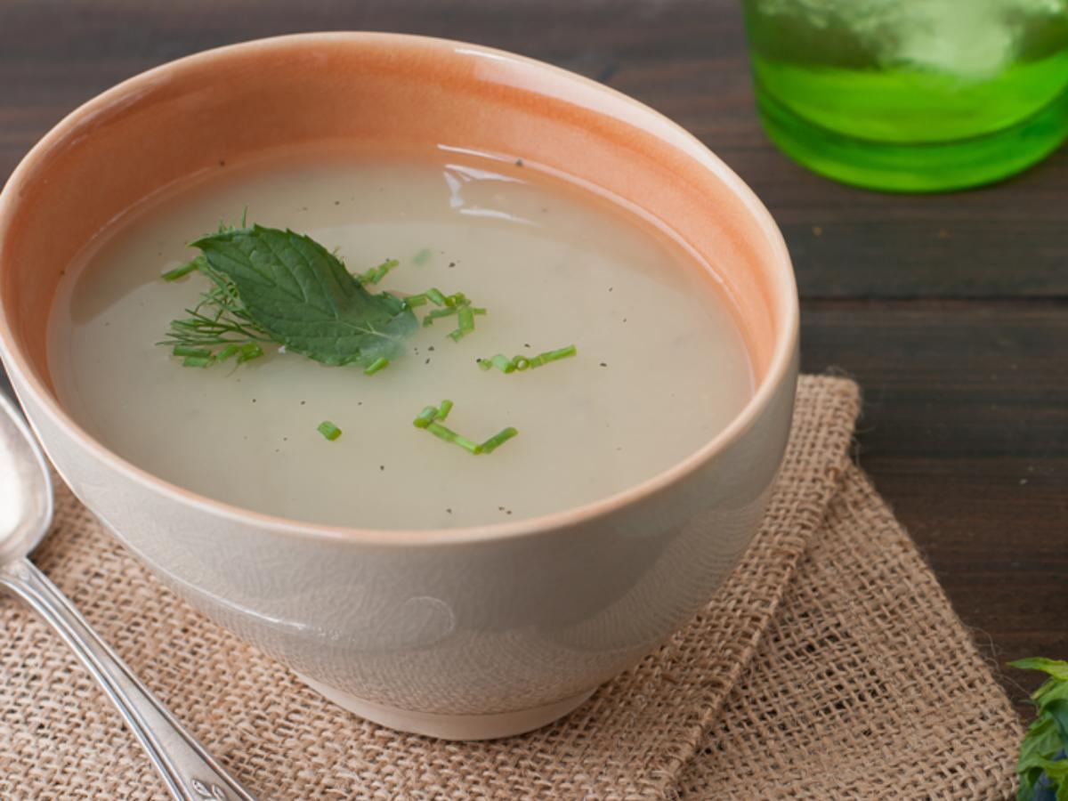 Fennel Soup Healthy Recipe