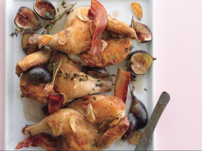 Figgy Piggy Cornish Hens Healthy Recipe