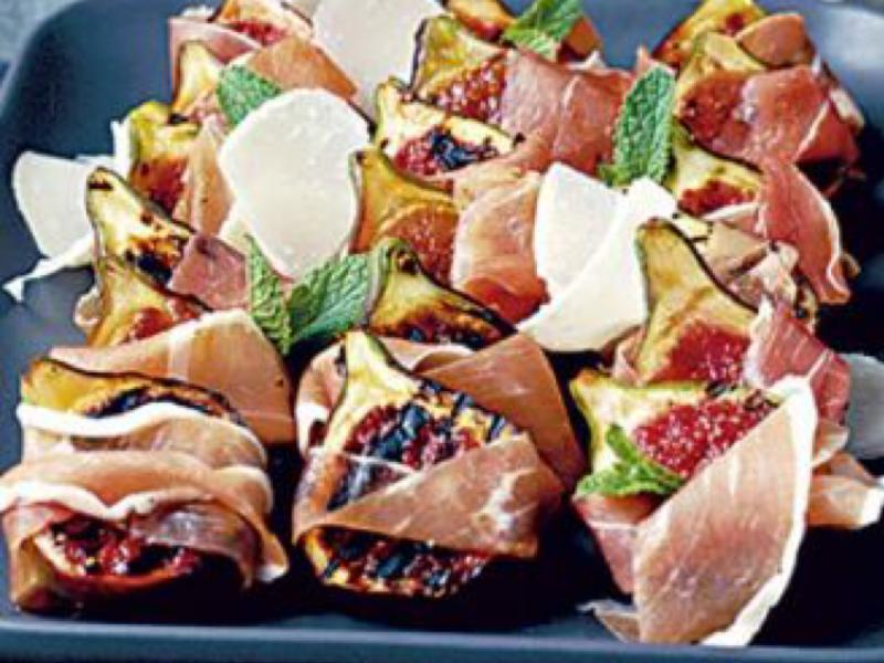 Figs with Prosciutto Healthy Recipe