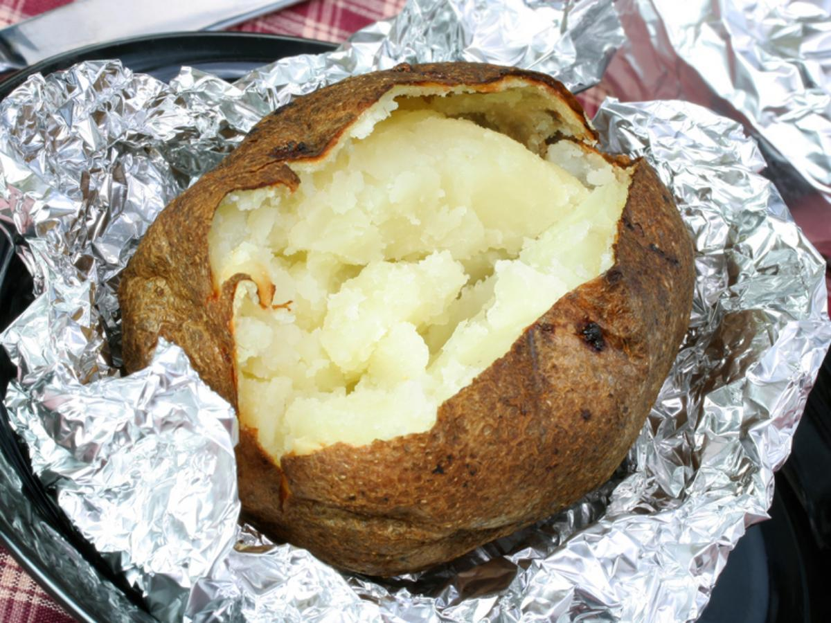 Foil Potatoes Healthy Recipe