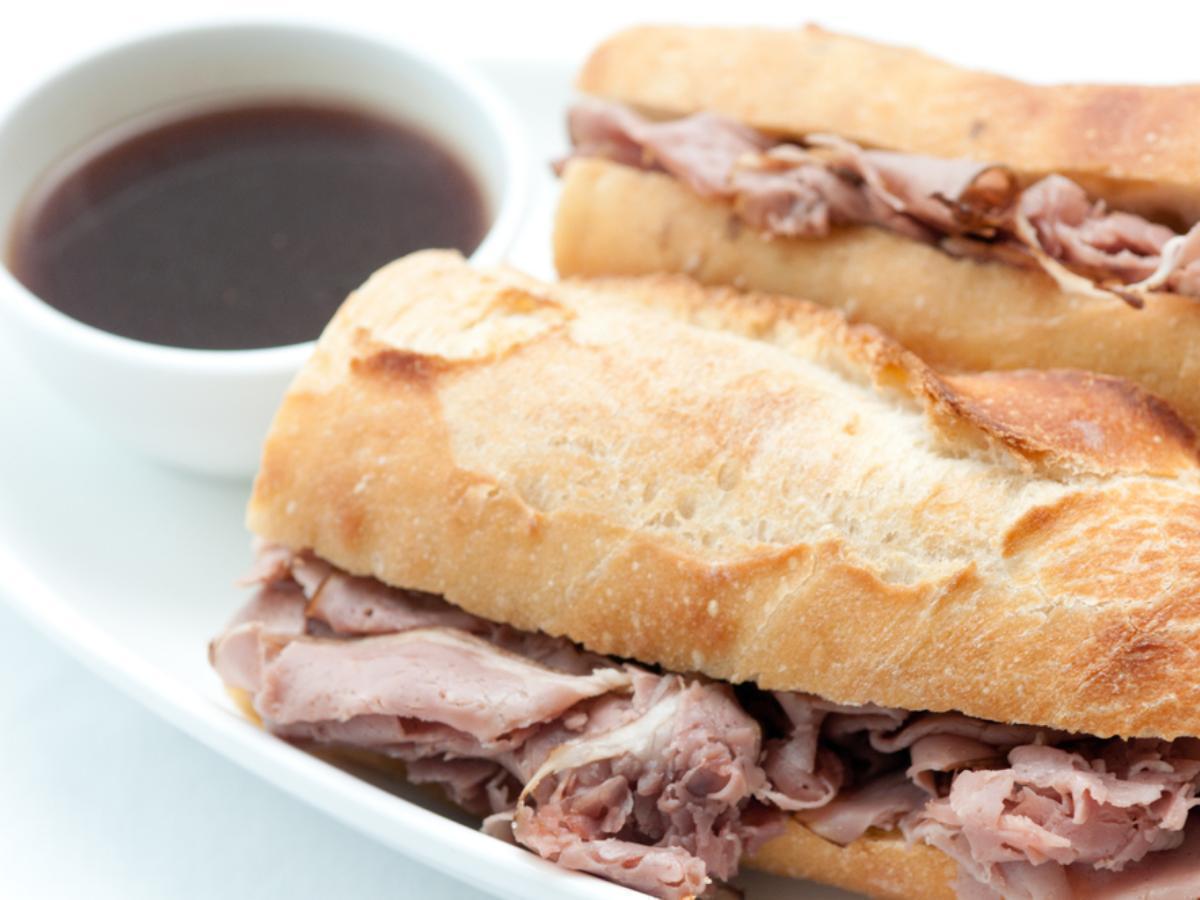 French Dip Sandwich Healthy Recipe