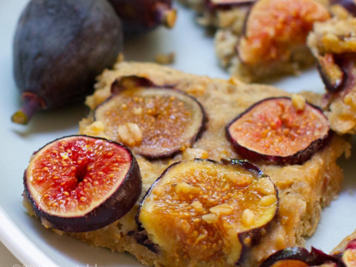 Fresh Fig Bars Healthy Recipe