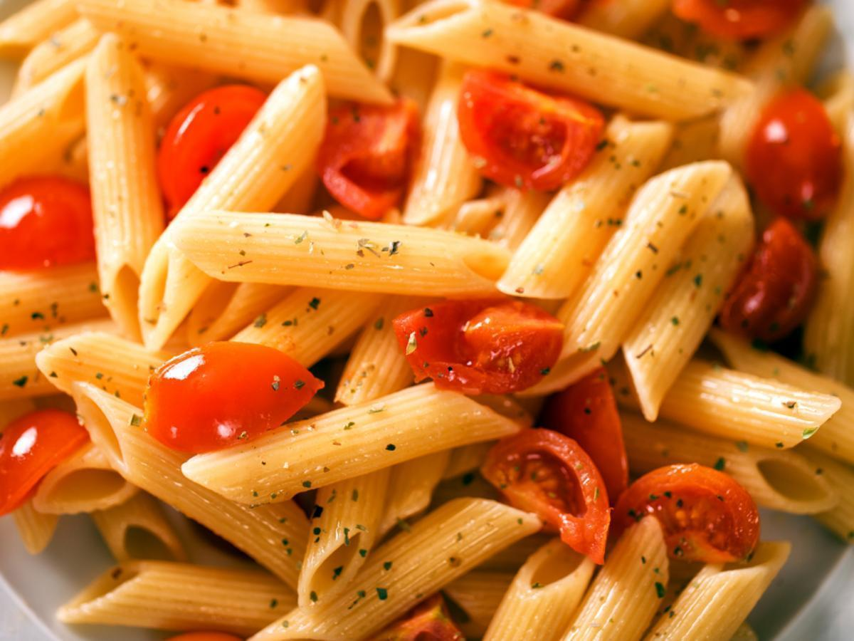 Fresh Tomato Pasta Healthy Recipe