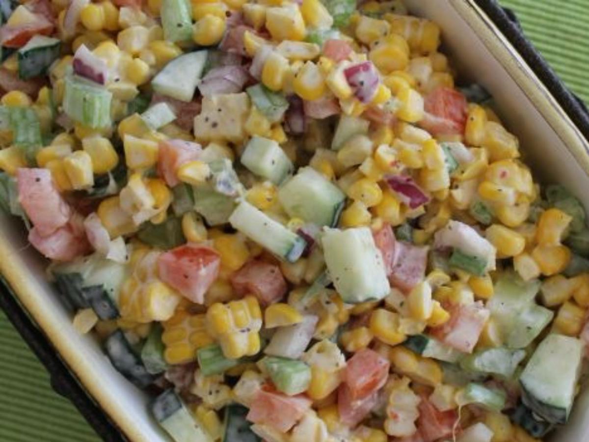 Fresh Vegetable Salad Healthy Recipe