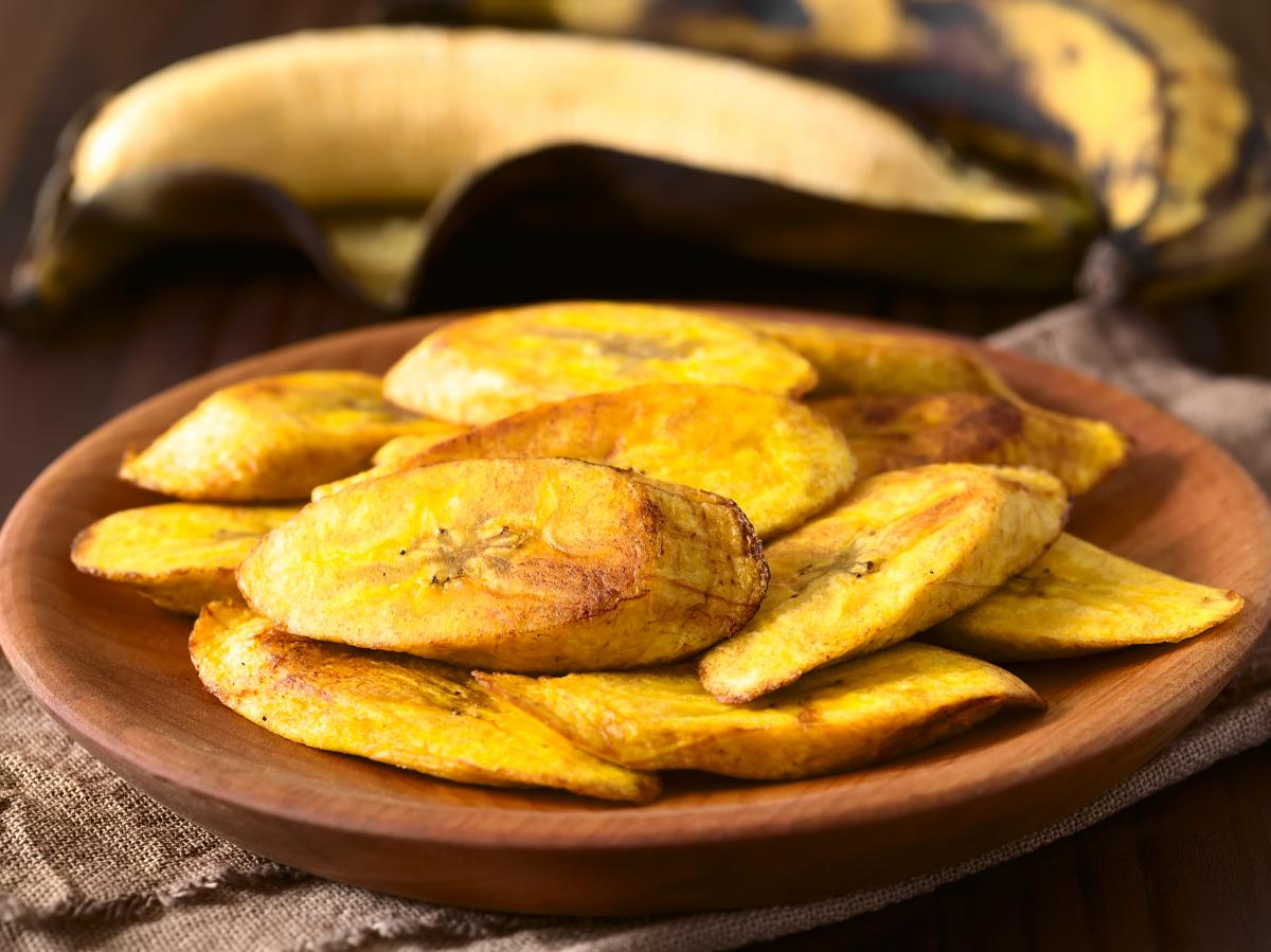 Fried Ripe Plantains  Healthy Recipe