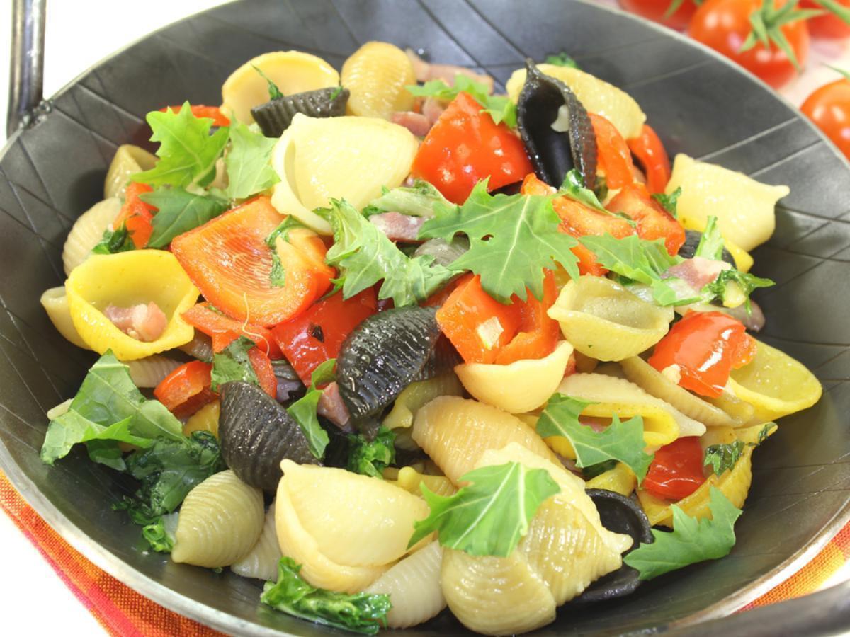 Garden style pasta Healthy Recipe