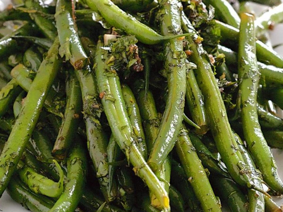 Garlic Balsamic Green Beans Healthy Recipe