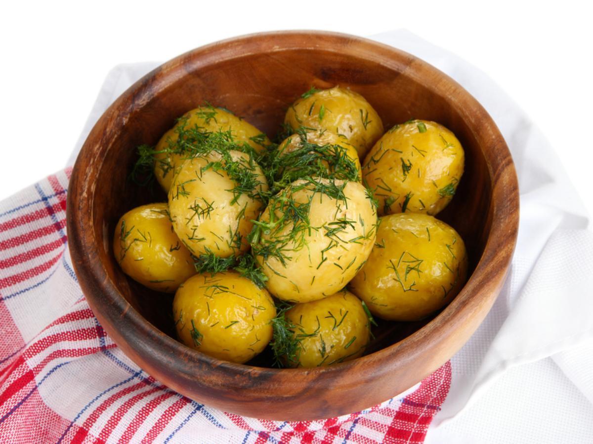 Garlic Dill New Potatoes Healthy Recipe