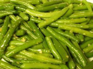Garlic green beans Healthy Recipe