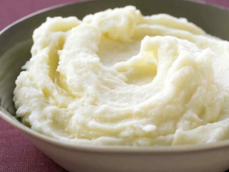 Garlic Mashed Potatoes Healthy Recipe