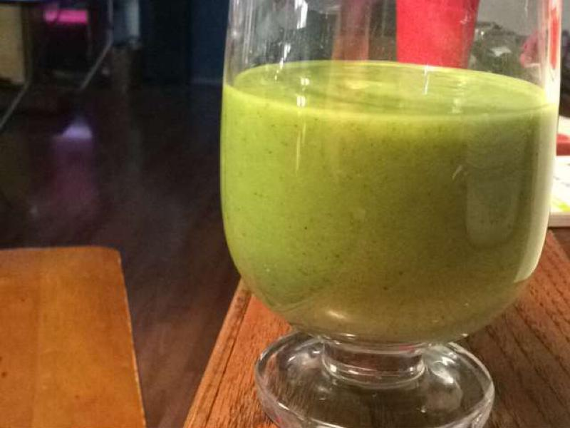 Ginger and Greens Smoothie Healthy Recipe