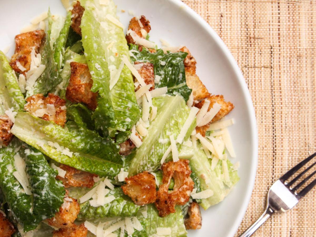 Gluten Free Caesar Salad Healthy Recipe