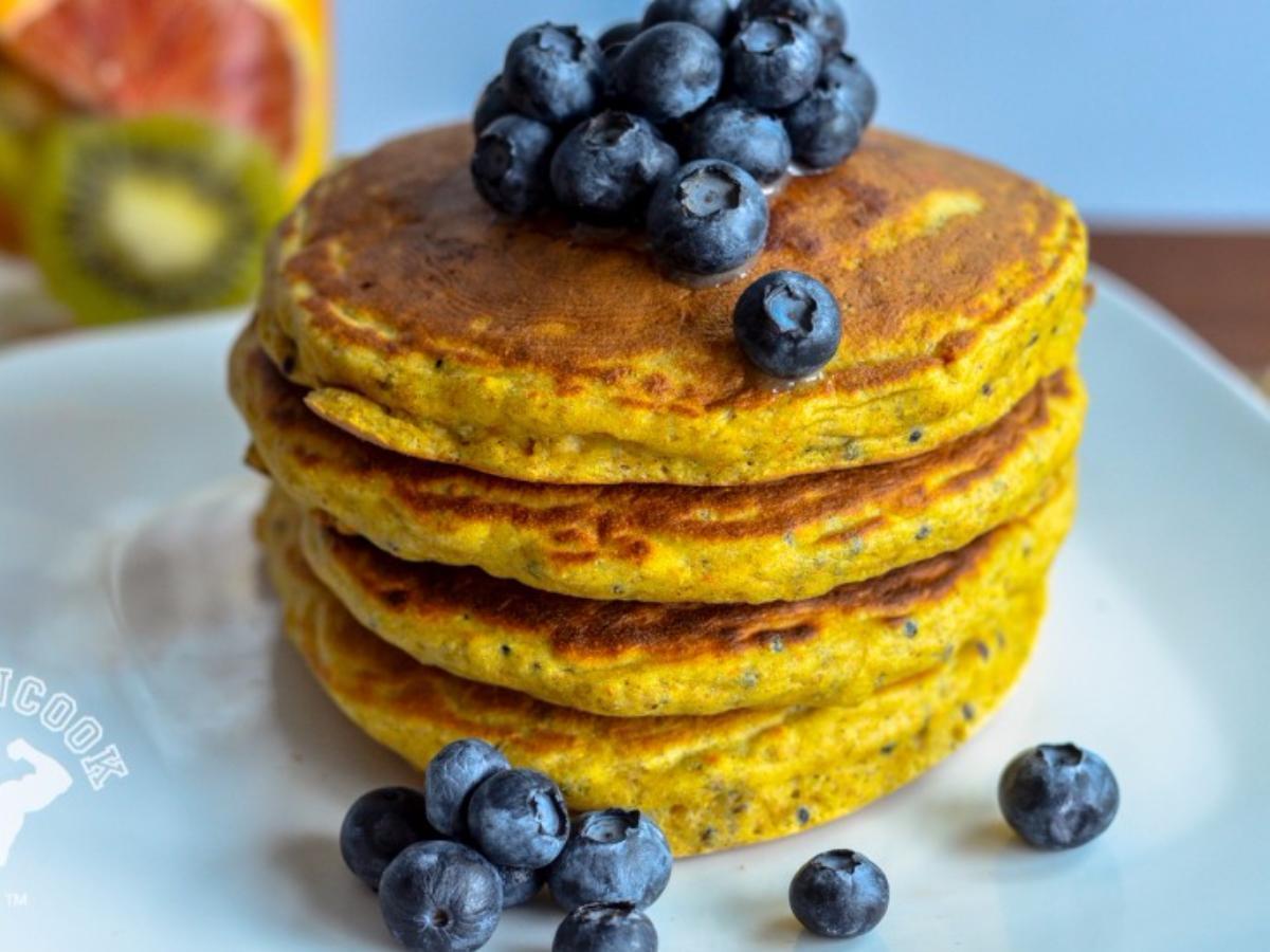 Gluten-Free Quinoa Pancakes Healthy Recipe